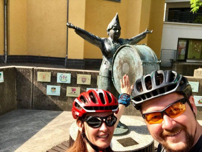 Ирина и Дмитрий Ковтун посетили на своих велосипедах 11 городов в шести странах Европы.