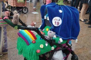 Парад колясок популярен во многих российских городах.
