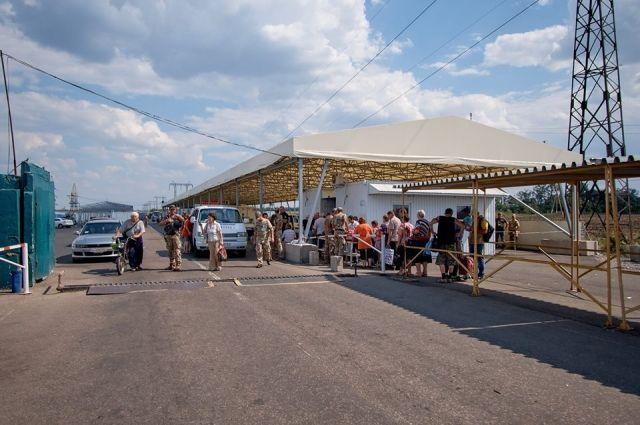 На КПВВ «Марьинка» появится зона ожидания с обогревателями и кондиционерами