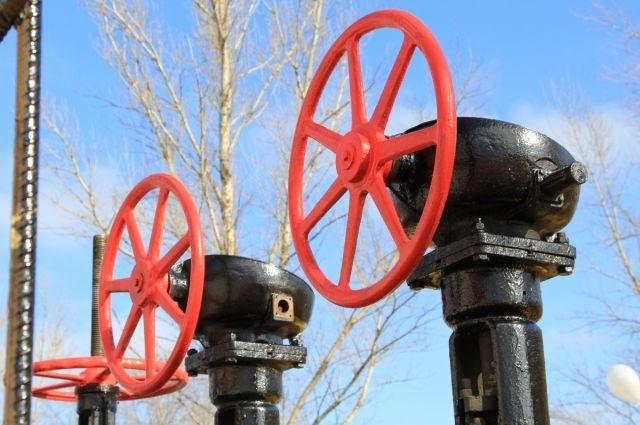 93 дома в Гурьевском районе подключают к природному газу.