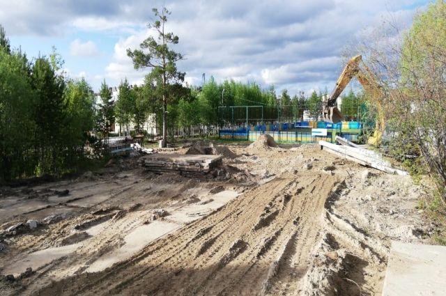 В Ноябрьске за пять приведут в порядок более 400 дворов