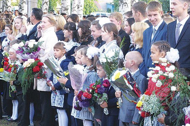 В Тюменской области 1 сентября за парты сядут более 200 тысяч школьников