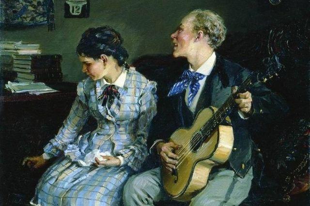 Илларион Прянишников «Жестокие романсы». 1881 год