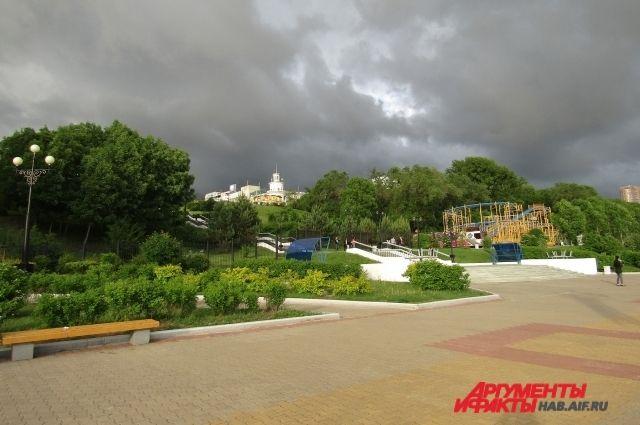 Сегодня в Хабаровске будет дуть северный ветер.