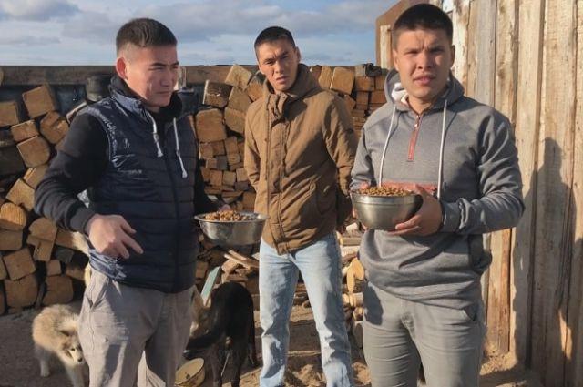 Молодежь Ямальского района призывает наполнить миску бездомным животным