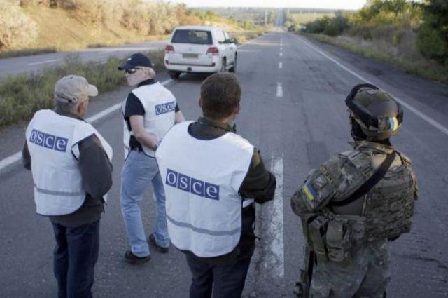 ОБСЕ обнаружила позиции неустановленных сил под флагом Китая у Донецка
