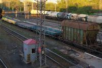 Строительство виадука на станции Кача велось с сентября.