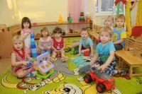 В детских сада открывают группы детей от одного года.