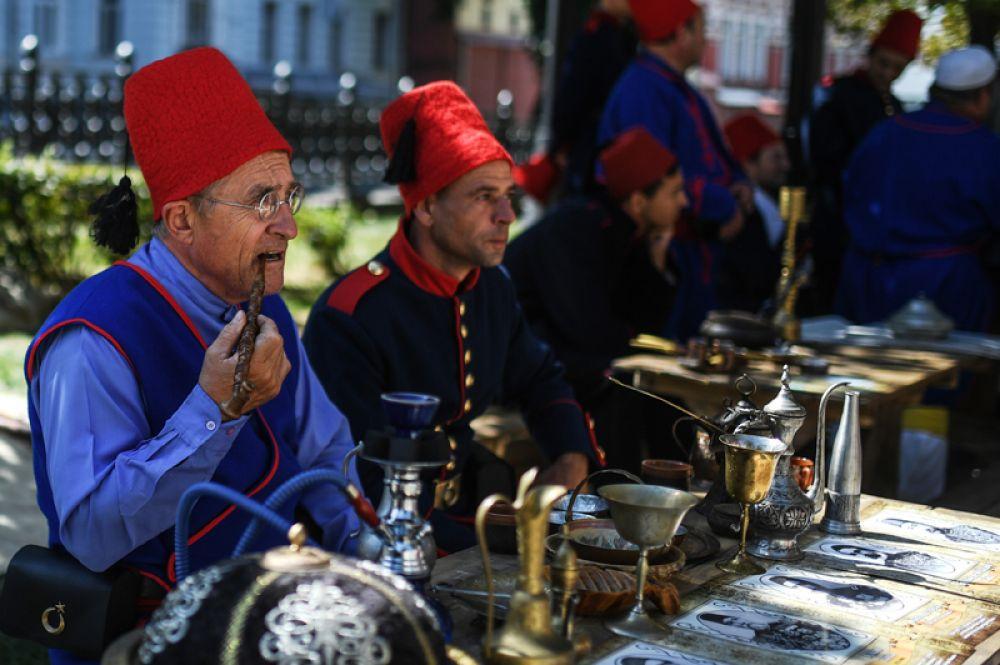 На Рождественском бульваре посетители попадут в эпоху русско-турецкой войны 1877-78 годов.