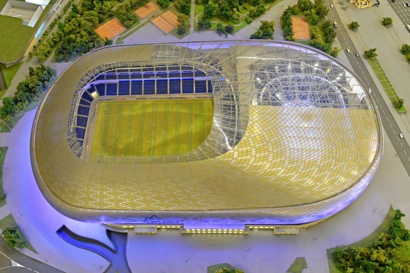 Проект нового стадиона «Динамо». 2016 год.