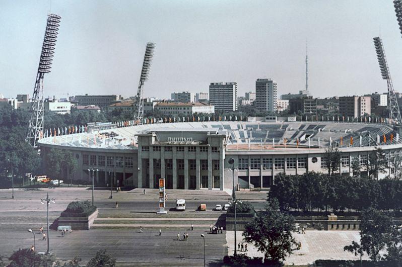 Московский стадион «Динамо». 1996 год.