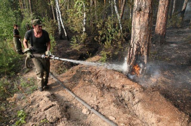Ещё весной этого года выяснилось, что далеко не везде при тушении лесных пожаров доступны современные средства. Где-то на вооружении лишь лопаты!