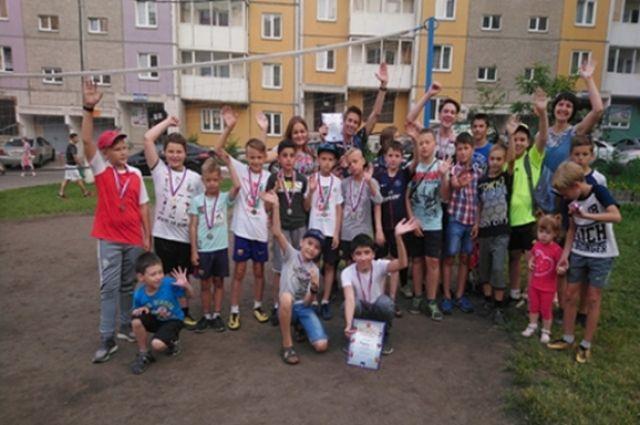 В Центральном районе Красноярска пройдет дворовая Олимпиада