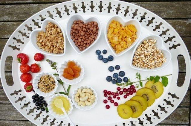 Здоровое питание - это правильно выбранные продукты и размеры порции.