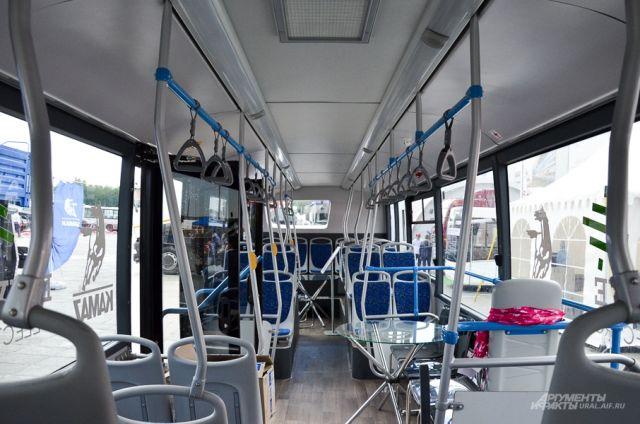 В Ханты-Мансийский АТП прибыл электробус.