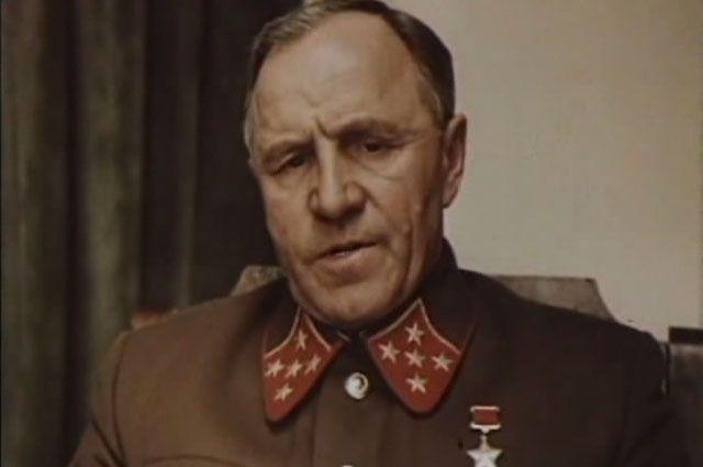 Несокрушимый и легендарный маршал Жуков в исполнении Михаила Ульянова.