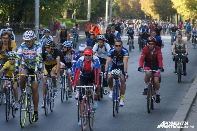 Из-за велопробега в Зеленоградск будут перекрыты улицы облцентра.