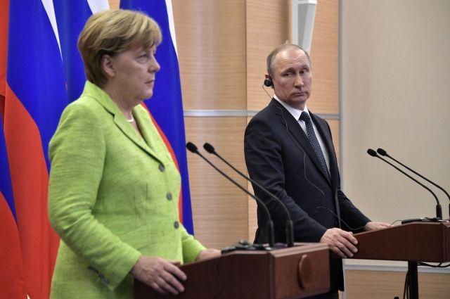 Меркель заявила, что не ожидает «особых результатов» от встречи с Путиным