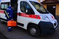 Мальчика отвезли в больницу, чтобы проверить, не повреждены ли внутренние органы.