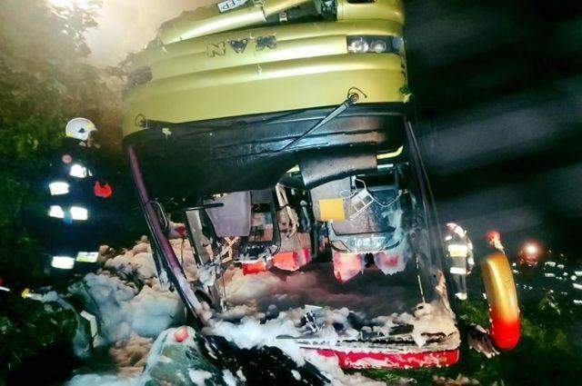 Смертельное ДТП с украинским автобусом в Польше: пострадали 54 человека