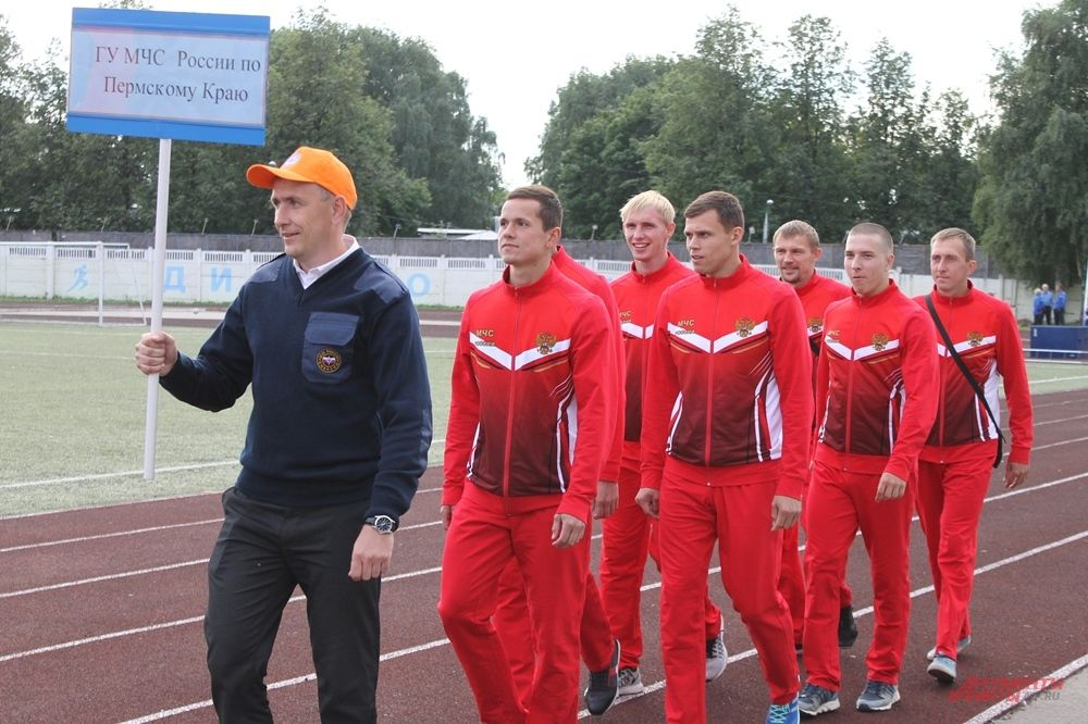 Участники соревнований от Пермского края