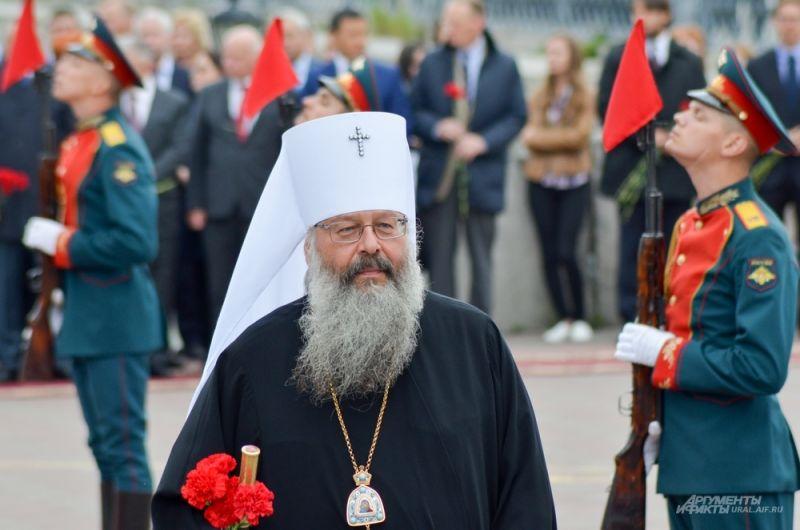 Митрополит Екатеринбургской епархии Кирилл.