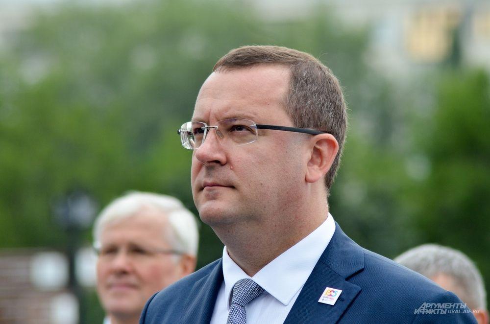 Первый заместитель главы администрации Екатеринбурга Алексей Кожемяко.