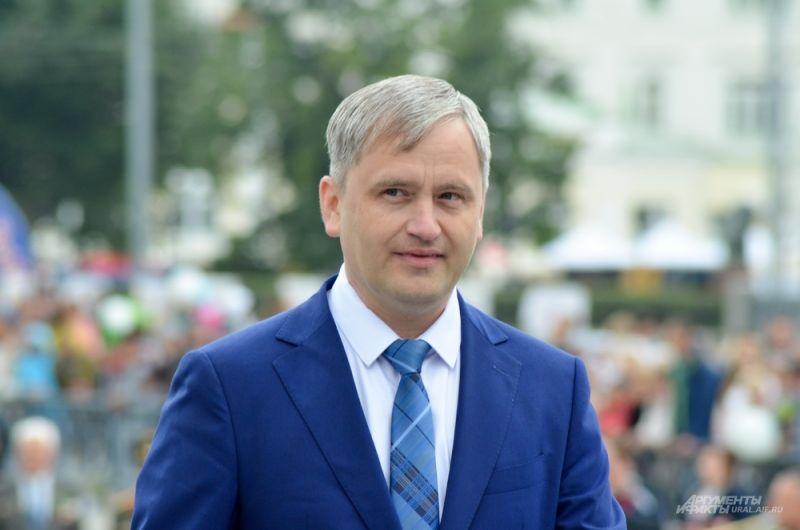 Главный федеральный инспектор в Свердловской области Данила Трубинов.