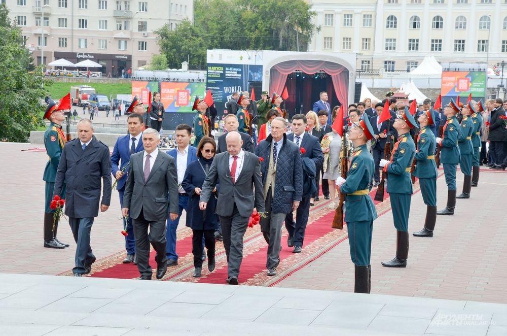 Представители дипмиссий в Екатеринбурге.