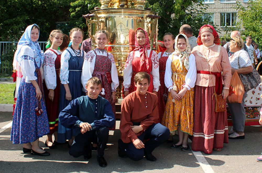 Русская культура на фестивале