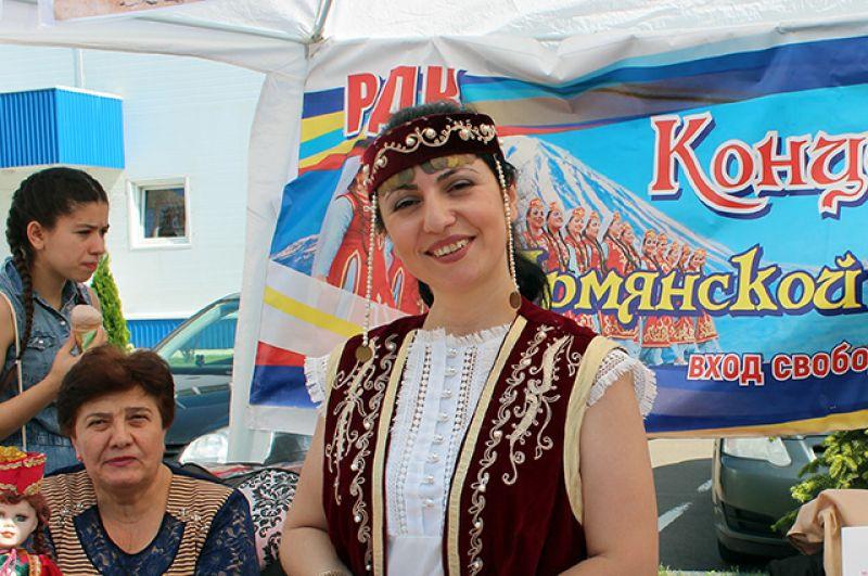 Армянская диаспора радушно встречала гостей