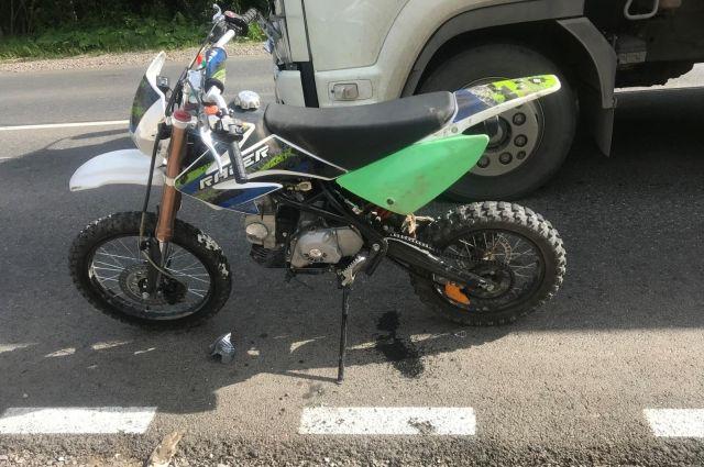 За неделю в Пермском крае произошло несколько ДТП с участием мотоциклистов.