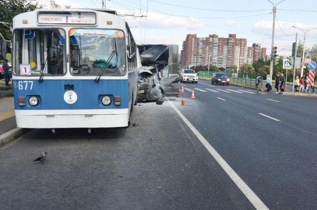 Авария произошла днём 18 августа.