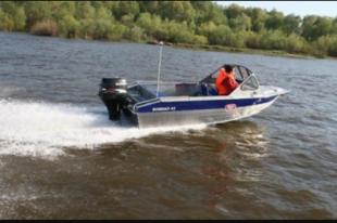 Бригада спасателей обнаружила перевернувшийся катер в районе Зализаево.