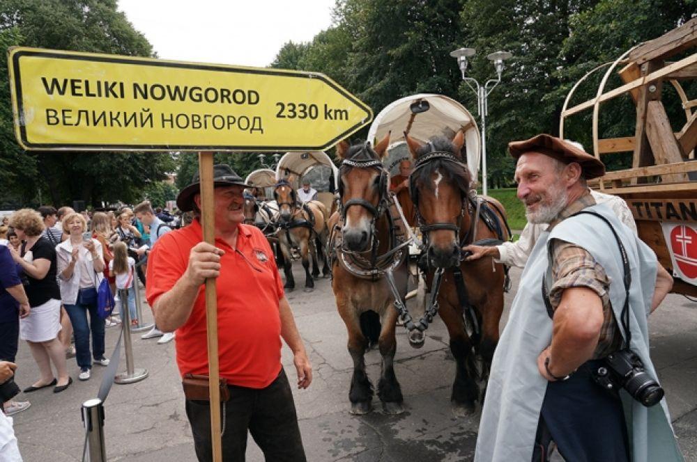 Калининградская область стала первым российским регионом на пути конного марша.