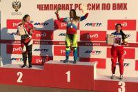 Победители и призеры чемпионата России по велоспорту-ВМХ.