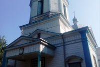 Под Черкассами из-за попадания молнии воспламенилась церковь 1896 года
