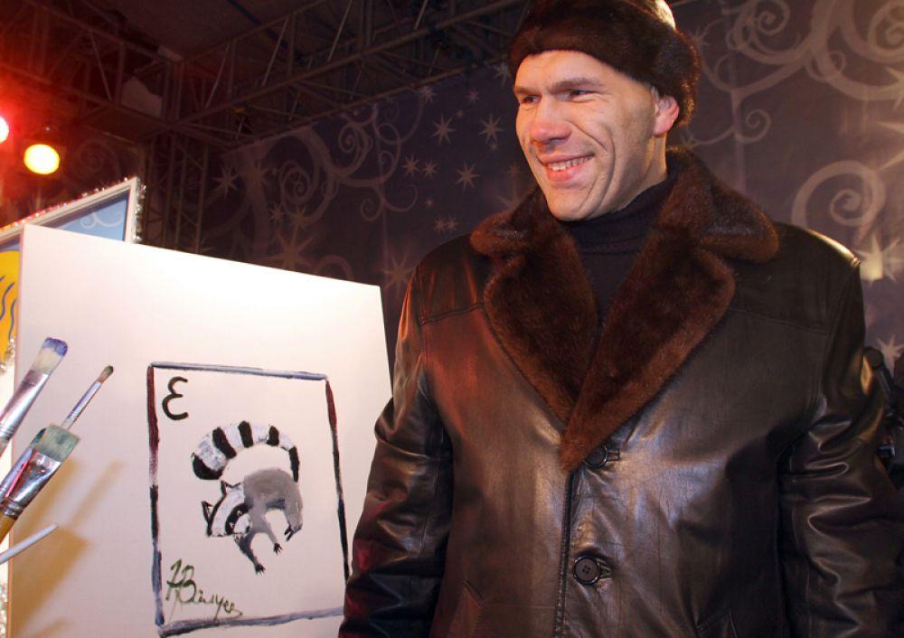 На детском благотворительном мероприятии в Санкт-Петербурге, 2010 год.