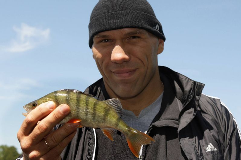 На рыбалке, 2009 год.