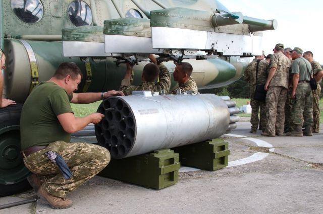 В Чернигове испытали новую ракету Оскол.