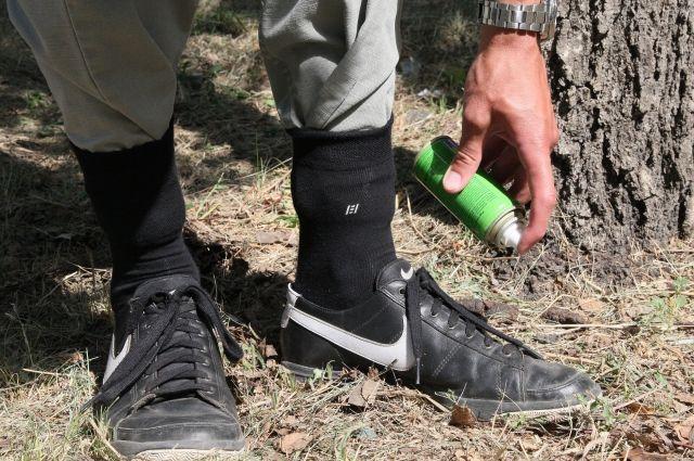 В лесу надо использовать одежду, которая максимально закрывает тело, а также применять репелленты.