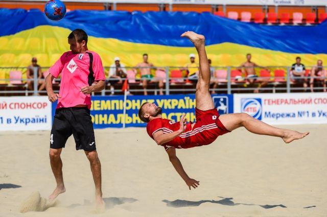 Чемпионат Украины по пляжному футболу: жеребьевка и расписание игр