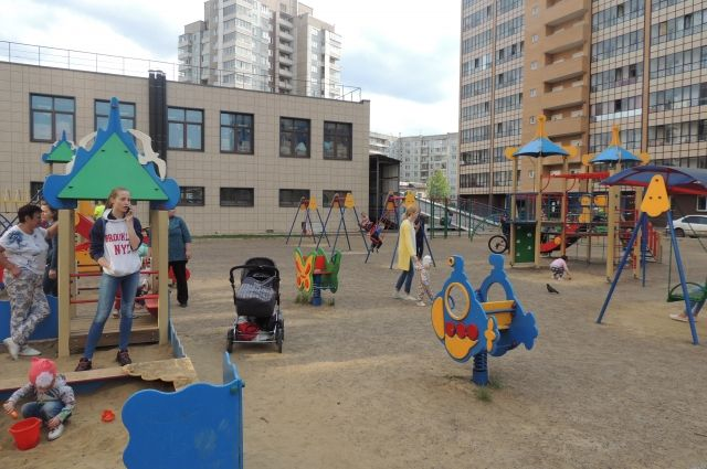 Для детской площадки планируется закупить карусели и песочницы.