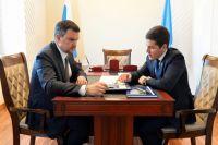 Максим Акимов и Дмитрий Артюхов обсудили строительство Северного широтного хода