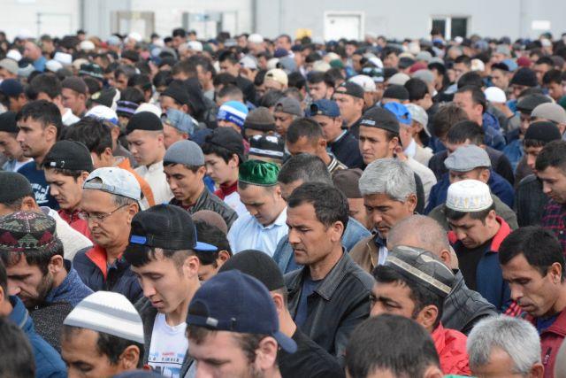 Мусульмане Оренбуржья празднуют Курбан-байрам.