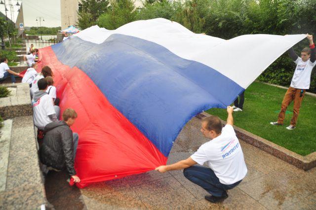 В Новосибирской области готовятся отмечать День флага.
