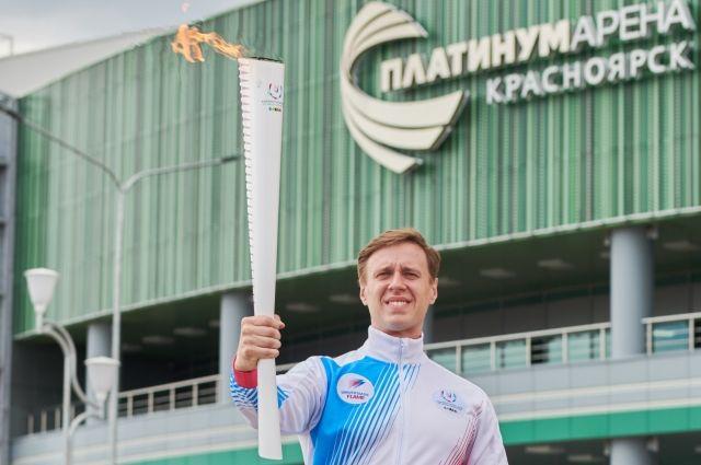 Факел Студенческих игр пронесут по улицам 30-и городов России, в том числе по Иркутску.