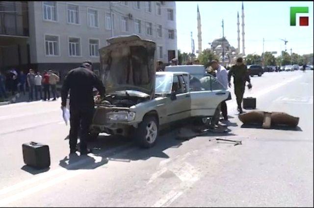 Террористы, сбившие сотрудника ДПС, были уничтожены в результате погони.