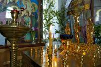 В Уренгое строительство храма под контролем архиепископа Николая