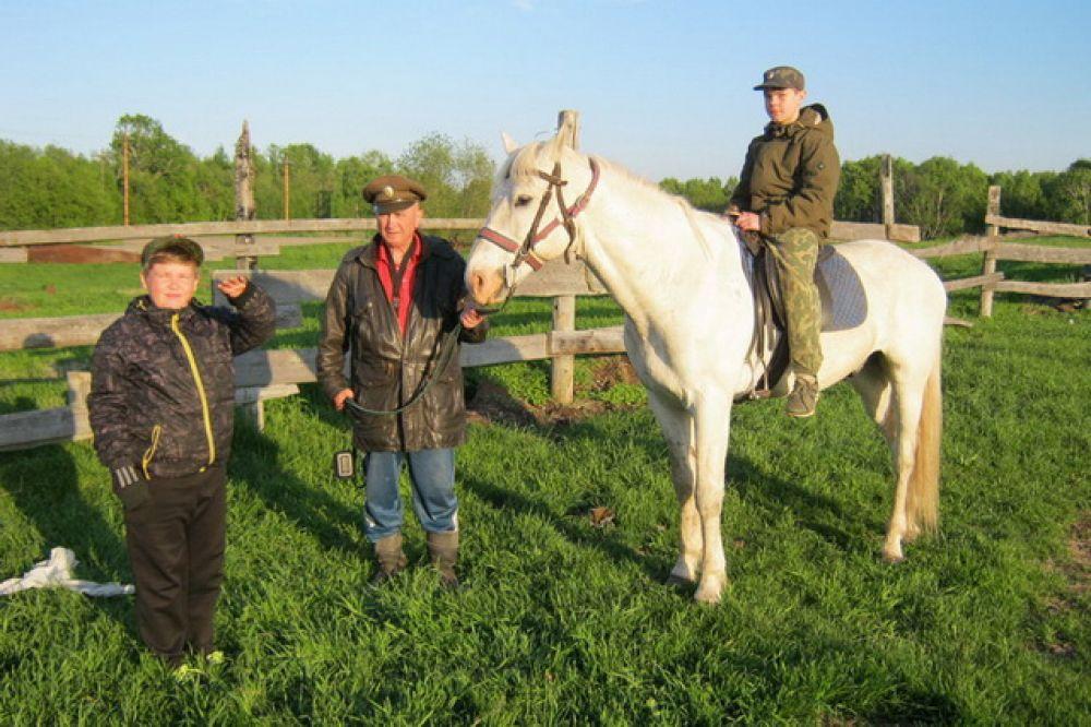 Лошади – неотъемлемый атрибут казачества.